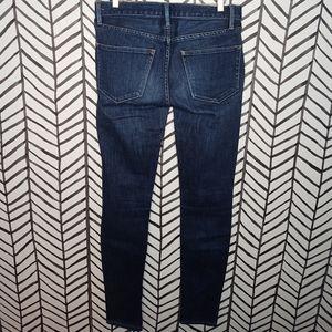 "Madewell Jeans 8"" rise ""Skinny Skinny"""